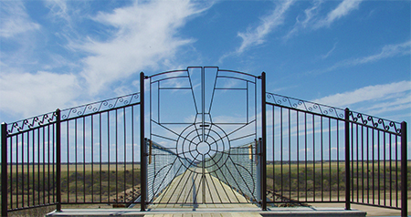Skytrail Bridge Gate